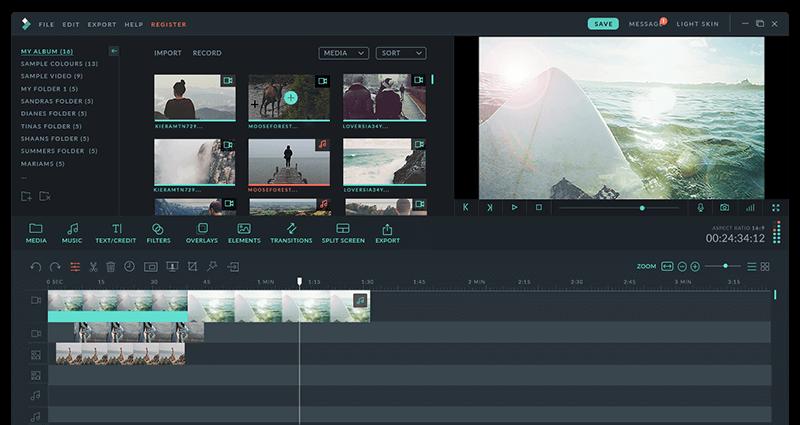 Wondershare Filmora 8 for Mac 8.7.0 破解版 - 优秀的视频编辑工具