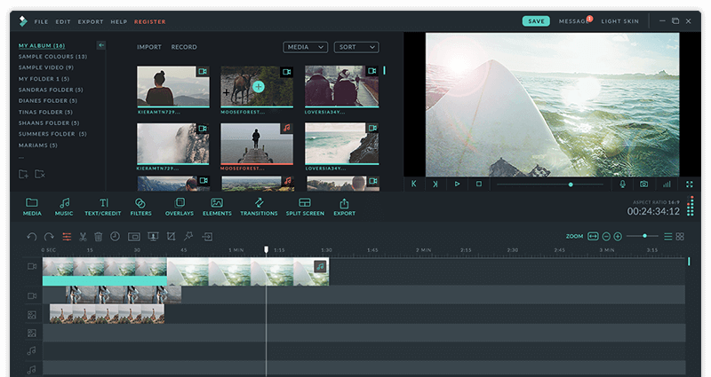 Wondershare Filmora 8 for Mac 8.5.1 破解版 – 优秀的视频编辑工具-爱情守望者