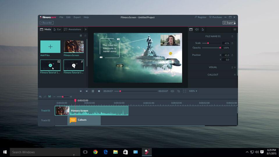 Wondershare Filmora Scrn for Mac 1.5.0 破解版 - 屏幕录制和编辑软件