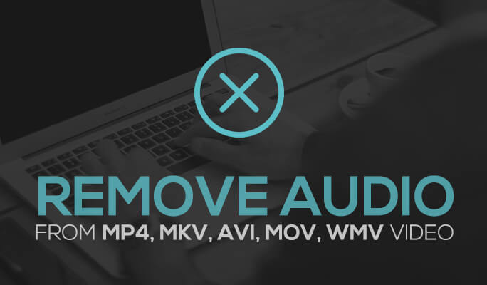 Remove Audio from MP4, MKV, AVI, MOV, WMV Video