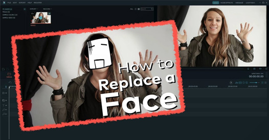 Picture editor change face